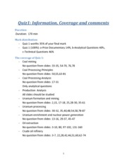 MIME320-F13-Quiz1-Information, coverage and comments