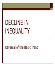 Decline in Inequality.ppt