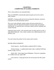 ABM 204 Chapter 4 Global notes