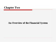 (BBA)CH2 Financial System