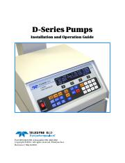 D-Series Syringe Pumps User Manual.pdf