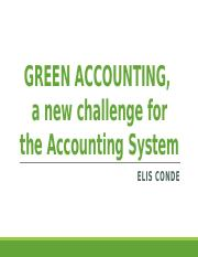 GREEN ACCOUNTING - A New Challenge.pptx