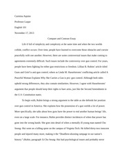 Of Mice And Men Introduction Essay Native American Essay Carmina Aquino Patrick Mulroy English  Pages  Compareandcontrast Essays On Gender also Essay Population Native American Essays Native American Art Keyword Heilbrunn  Bowling For Columbine Essay