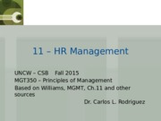 MGMT 11 - HR Management