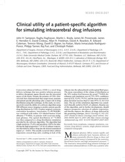 Clinical Utility(1)