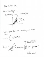 Polar Coordinates and Area