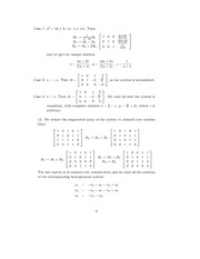 Linear Algebra Solutions 3