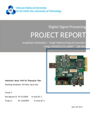DSP project report