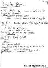 Data Structures and Algorithms - Priority Queue Notes