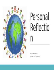 Personal Reflection EDP 310.pptx