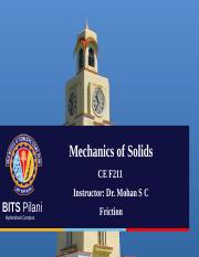 4 Friction Mechanics of solids.ppt