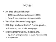 Parallel Programming Notes