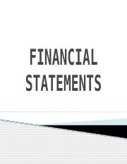 FINANCIAL STATEMENTS ppt.pptm
