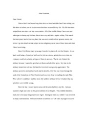 history final paper rome