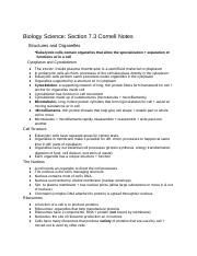 Copy of Biology Science: Section 7.3 CN