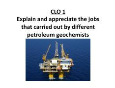 02. Petroleum geochemists 1