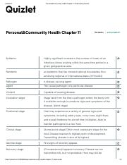 DISEASE Personal&Community Health Chapter 11 Flashcards.pdf