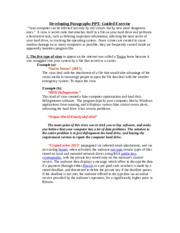 computer virus essay A computer virus is a piece of malicious code that is capable of copying itself and typically has a detrimental effect such as corrupting a  - process essay.