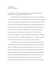 2 Pages Chapter 11 Assignment: Health Care Essay