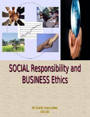 SOCIAL Responsibility and BUSINESS Ethics.ppt