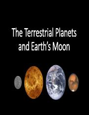 Lecture 9- The Terrestrial Planets and Earth's Moon.pdf