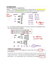 4.1 Counting Principles Part 1