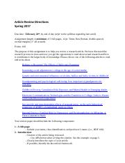 Article Review Directions SP 2017 MW(1).docx