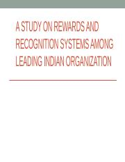 A study on rewards and recognition.pptx
