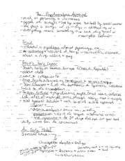 Freud Lecture notes