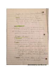 Chapter 13 notes- stress