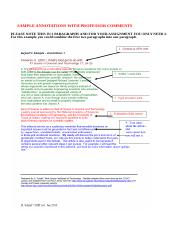 SAMPLE ANNOTATIONS WITH PROFESSOR COMMENTS (1)