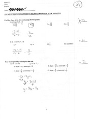 Exam 2 from 2010 Version A