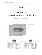 CHEM1242 Phys Chem MANUAL (2016 v1.0).pdf