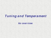 3.2 Tuning and Temperament 07