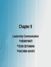 265147237-Chapter-9-Leadership-Communication.ppt