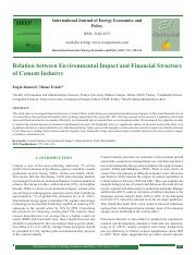 Relation between Environmental Impact and Financial Structure of Cement Industry.pdf