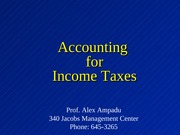 Chap 19 - Deferred Tax-1