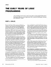 THE EARLY YEARS OF LOGIC HISTORY.pdf