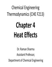 CET Chapter 4 (CHE F213)