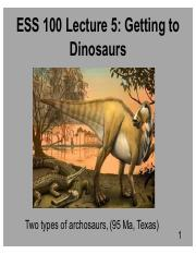 Lecture 5.2016 Getting to Dinosaurs.pdf