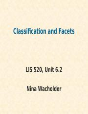 6.2-ClassificationAndFacets-LIS520-Online.pptx