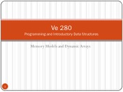 29-Memory-Models-and-Dynamic-Arrays
