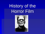 Horror Lecture2-1