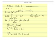 Statistical Mechanics and RationingClass Notes week 3
