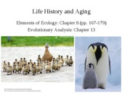 Lecture 12-Life History