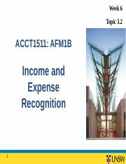 acct1511 topic 1 Start studying acct1511: topic 6: management accounting: costing and budgeting learn vocabulary, terms, and more with flashcards, games, and other study tools.