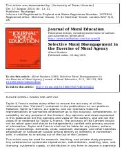 Selective Moral Disengagement in the Exercise of Moral Agency.pdf