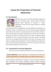 113-4 Preparation of Financial Statements