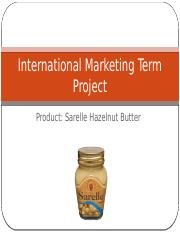 International Marketing Term Project