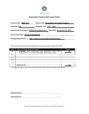 BACC 307 INDIVIDUAL ASSIGNMENT 2 PMS FALL 2015